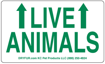 Live Animal Label Sets