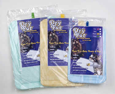 DryFur Cat Travel Pads