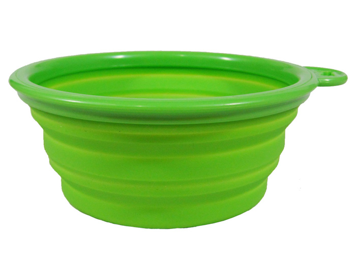 colapsible cat travel bowls